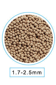 manufacturer 4a molecular sieve adsorbrnt for natural gas drying