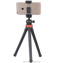 Wholesale Phone Tripod with Adjustable OCTOPUS style legs mini flexible tripod