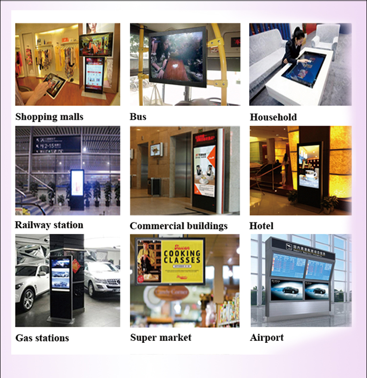 42''47''55''65'' Digital Signage Display USB/SD/CF Flash Memory Card Advertising Player