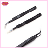 StarsColors Competitive Price Tweezers.High Quality Anti Static Eyelash Tweezers