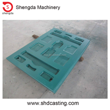 swing and fixed jaw crusher plate liner for C106 81439137800 for crushing gravel stone