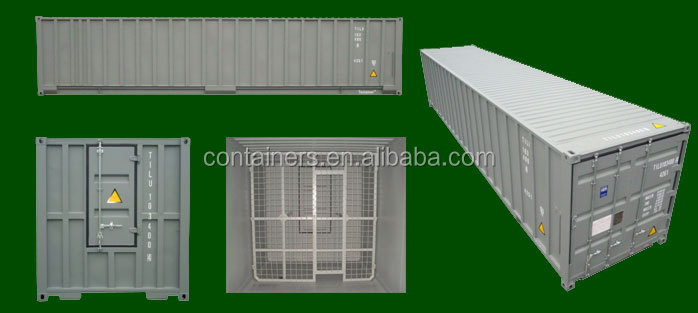 40ft container for scrap storage