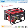 6kw Foord , GX200, low noise, 6.5hp, 163cc hand start, honda engine, home use, gasoline electric generator
