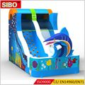 custom cheap children and adult inflatable water slides