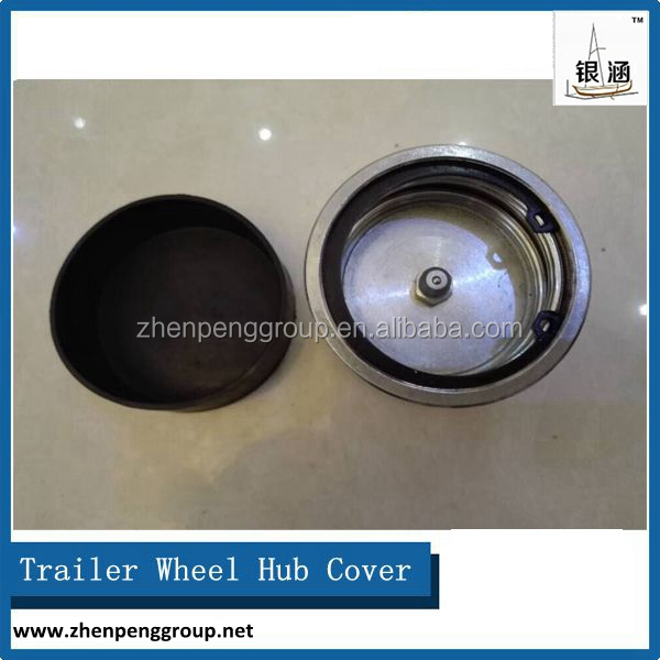 Dust cap for trailer wheel