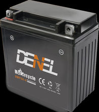 6v9ah Motorcycle MF Battery Comes in Dry-charged Type