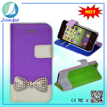 New arrival stylish fancy leather cell phone housing cover case for iphone 5
