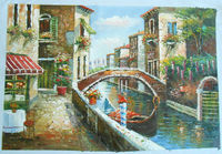 High quality canvas painting art wholesale