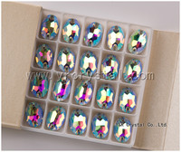 shining rhinestone stone button sew on crystal beads for wedding dress