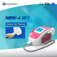 Pain Free sapphire semi-conductor 808 diode laser hair removal