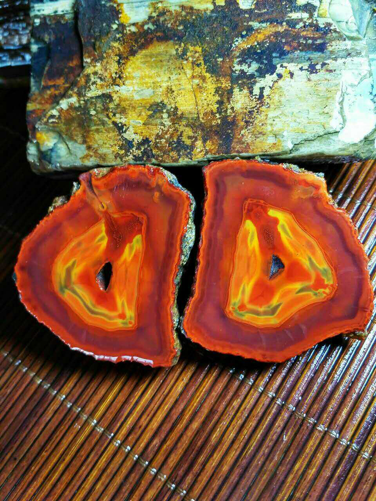 Agate Collector Specimen Chinese Agate for Special Office Gift