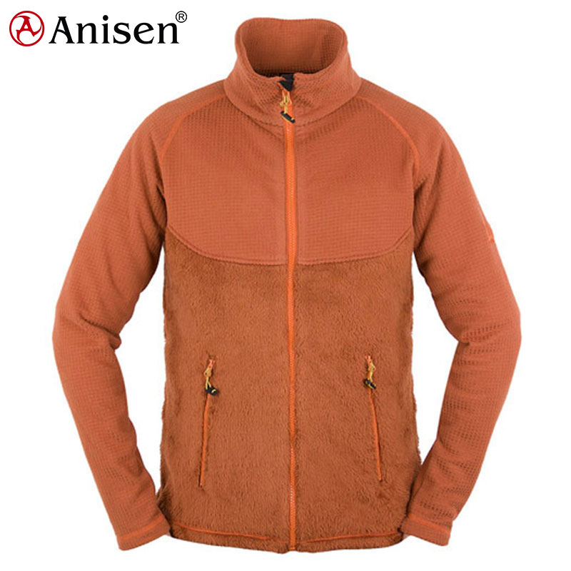 windproof body fur lined winter men's clothing jacket