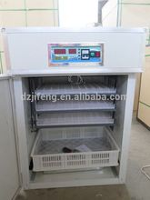 CE approved automatic digital chicken egg incubator hatcher