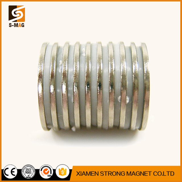 High Performance Counter Sunk Hole Rare Earth round shape Neodymium magnets