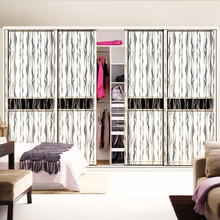 Bedroom Furniture Customized latest wall mounted built in wardrobes