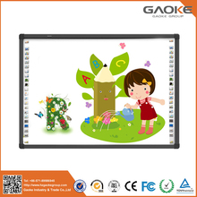 Recordable aluminium alloy infrared interactive smart board for school use