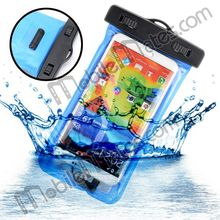 Dry Bag Pack Armband Pouch PVC Phone Waterproof Case for Samsung Galaxy Note 3 N9000 N9002 N9005 N9006 with an Earphone Jack