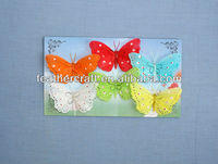 real feather butterflies for crafts in all sizes