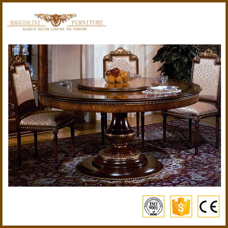 Most popular excellent quality luxury french dining room sets furniture