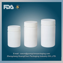 medicine plastic bottle packaging/pill bottles with screw cap