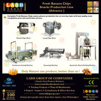 Banana Chips Processing Making Production Plant Manufacturing Line Machines for Philippines e853
