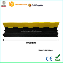 cable stayed bridge with low price cable protectors on floor flexible rubber cable bump