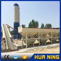HZS series Automatic 90m3/h concrete mixing plant for civil engineering