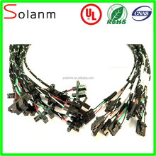 Auto wire harness and cable assembly can be customized made by Solanm