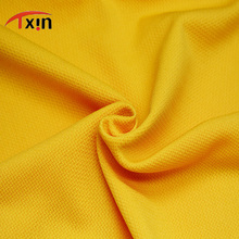 hard knitted polyester interwoven jersey fabric for sportswear