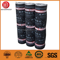 torched waterproof material sbs waterproof membrane with polyester reinforcement