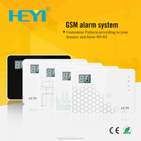 Alarm Monitor System GSM Home Alarm System Integrate IP Camera