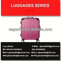 best and hot sell luggage designer leather luggage set for luggage using