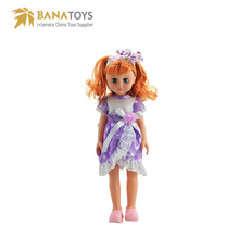 Musical cheap plastic fashion dolls for girl