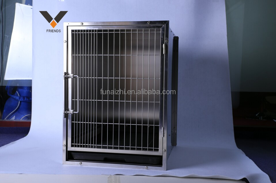 cheap dog cages with strong guage steel commercial pet house