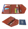 Brand new design best leather travel wallet rfid blocking wallet for women