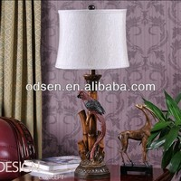 European style antique home table lamp shade of pastoral originality individuality design