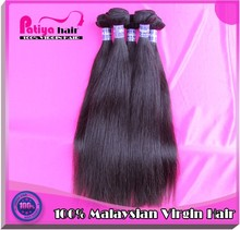 Buy in bulk wholesale merchandise direct from china color #1b can be dyed natural straight hair virgin malaysian hair