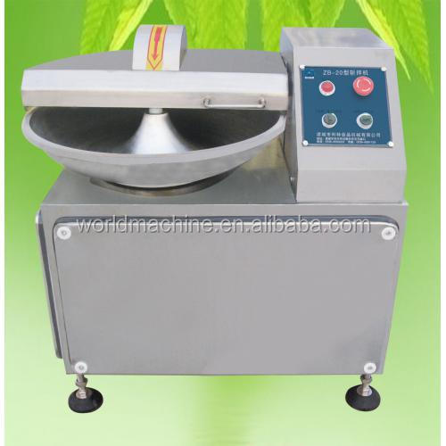 high speed meat bowl cutting and blending machine/meat bowl cutter/meat bowl cutter and mixer machine