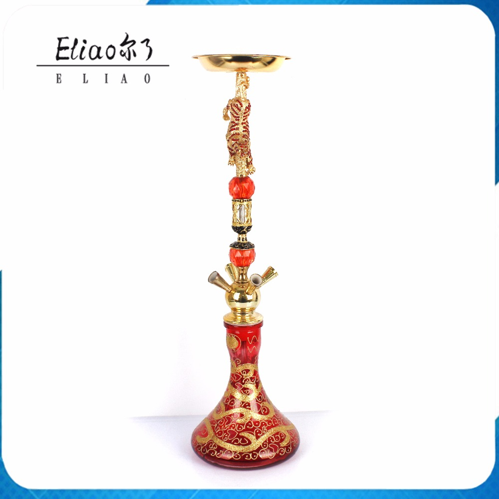 Exquisite Design Large Size Hookah Shisha Tobacco Water Pipe Smoking Tobacco Hookah