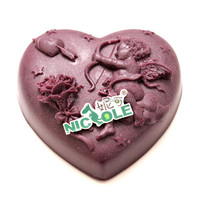 heart mould new handmade silicone rubber Nicole angel soap mould R0807