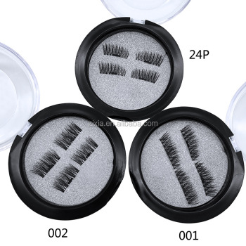 high quality 2017 Hot 3D magnet false eyelashes Label False Eyelash