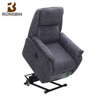 Free shipping China factory direct sell comfortable single lift recliner chair sofa for elderly