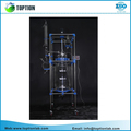 100l Double Layer Jacketed Glass Reactor With All Ptfe Valves