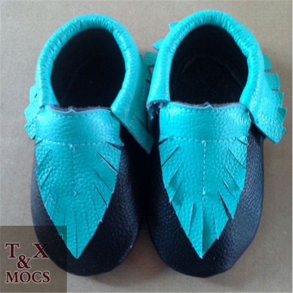 cow leather shoes kids shoes moccasins latin dance shoes