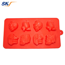 Trustworthy china supplier cute shapes small non toxic silicone ice cube trays