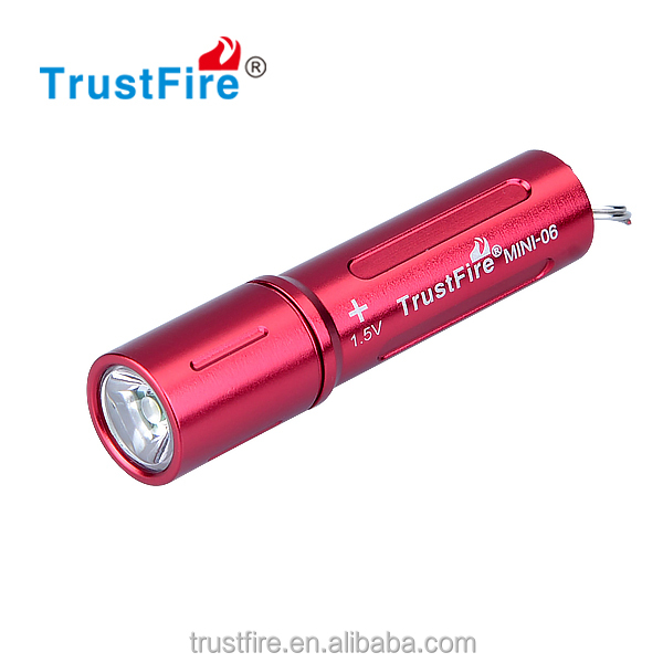 Trustfire mini-06 mini key-chain torch light for best Christmas gift