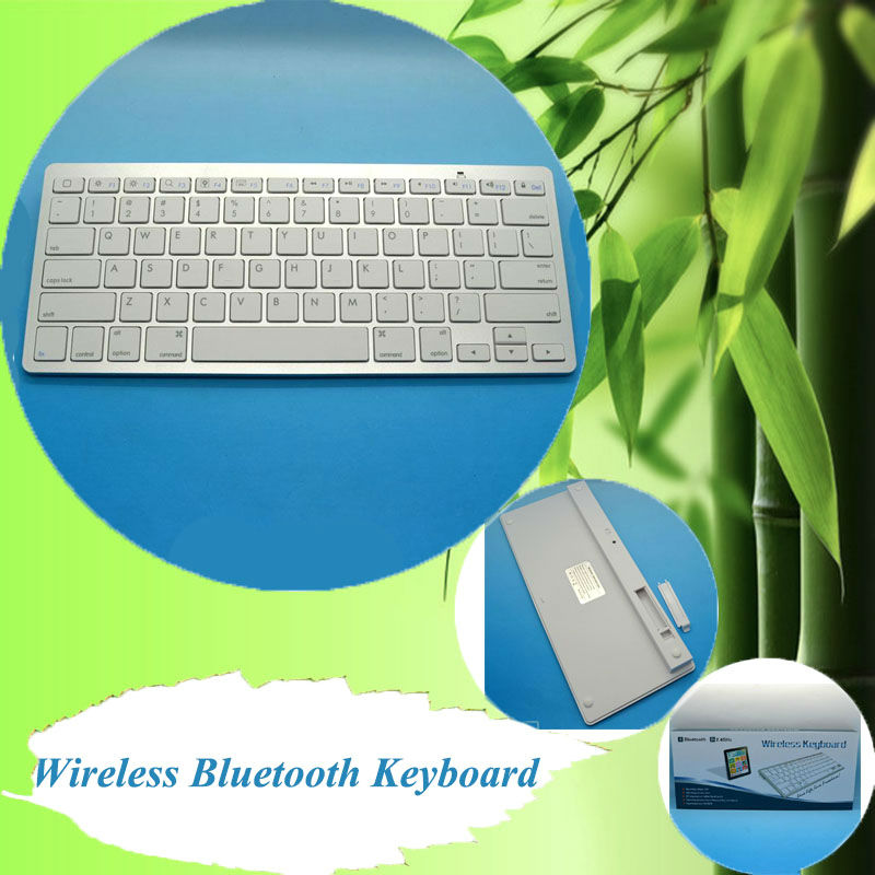 Ultra Slim Universal Wireless Bluetooth keyboard for Apple ipad iphone PC phone HTPC ,etc