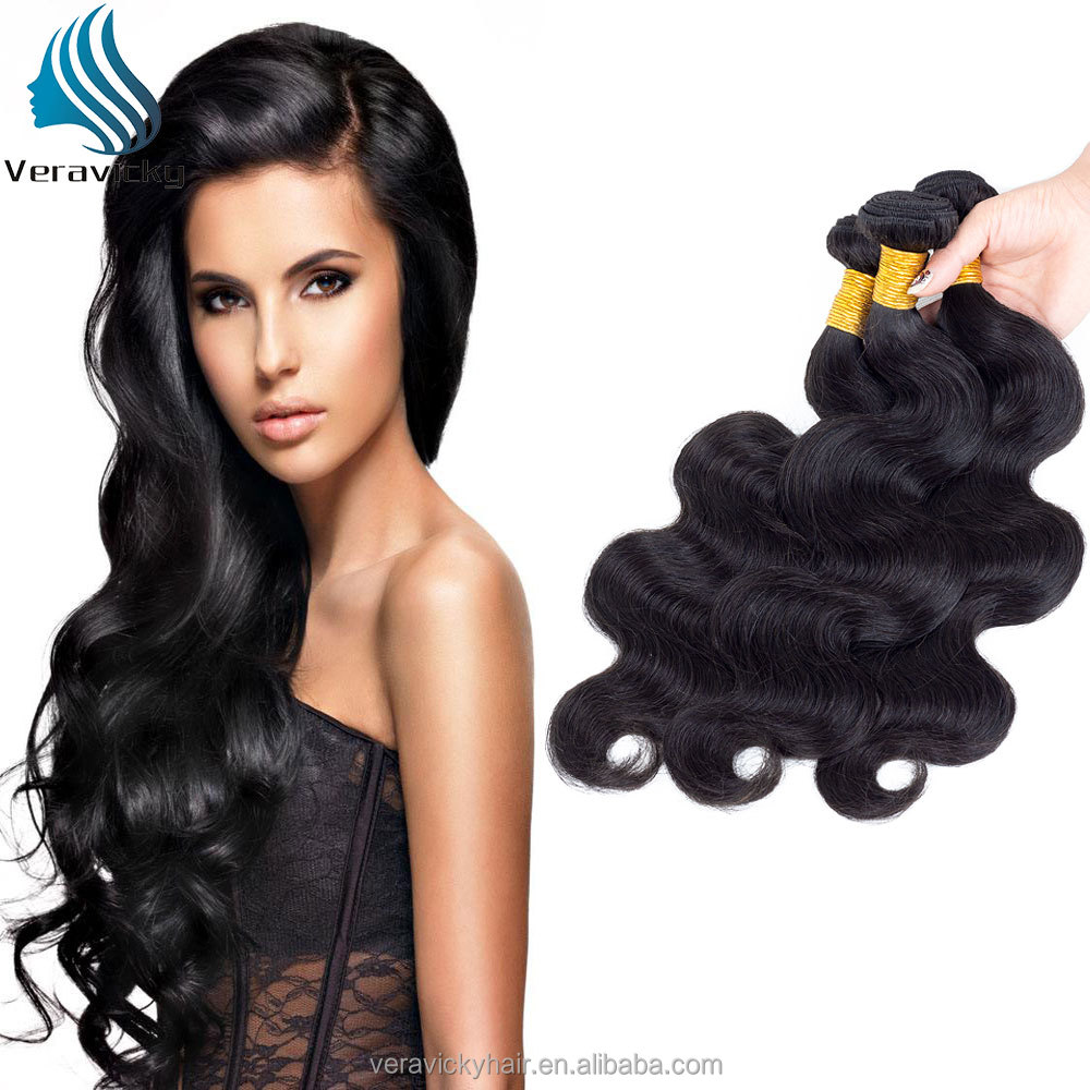 Veravicky brazilian human hair weaving ,free sample <strong>cheap</strong> remy human hair weaving