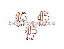 Christmas gift! Latest design low carbon steel wire shaped paper clip
