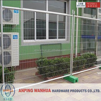 China supplier mobile fence mesh factory